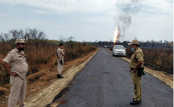 Two dead in Assam oil well blaze; operation to put out the flames in full swing