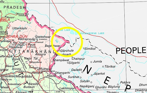 Nepal includes Indian territory in its map, China hand suspected