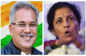 CM Bhupesh Baghel writes to Union Finance Minister Nirmala Sitharaman